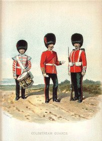 Coldstream Guards by Richard Simkin.