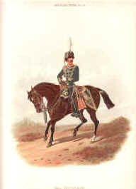 3rd Hussars by Richard Simkin
