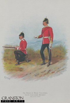 South Lancashire Regiment (Prince of Wales Volunteers) by Richard Simkin.
