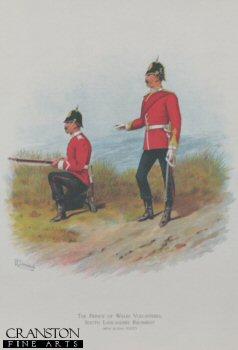 South Lancashire Regiment (Prince of Wales Volunteers) by Richard Simkin.