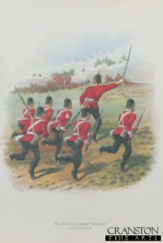 The East Lancashire Regiment (30th and 59th foot) by Richard Simkin