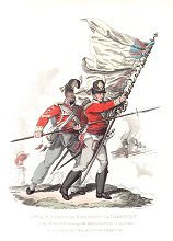 IXth or East Norfolk Regiment of Infantry by J C Stadler after Charles Hamilton Smith.