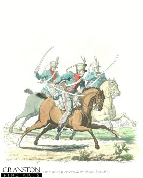 Light Dragoons Serving in the East Indies by J C Stadler after Charles Hamilton Smith.