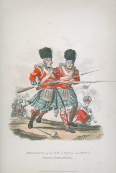 Grenadiers of the XLII or Royal, and XCII or Gordon Highlanders (P)