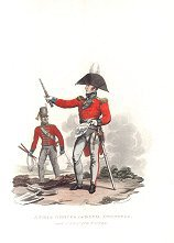 Field Officer of the Royal Engineers and a Private Sapper by J C Stadler after Charles Hamilton Smith.