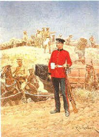 Royal Engineer by Richard Caton Woodville.
