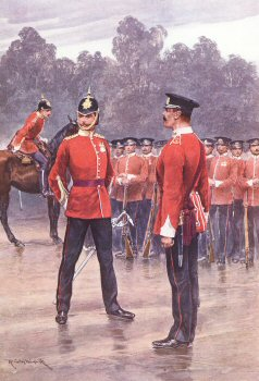 The Manchester Regiment by Richard Caton Woodville.