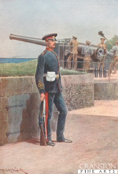 Royal Garrison Artillery by Richard Caton Woodville. (P)