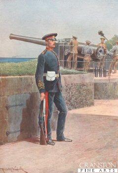 Royal Garrison Artillery by Richard Caton Woodville. (P)