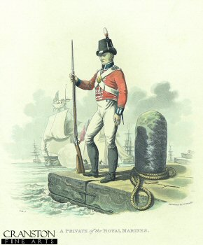 A Private of the Royal Marines by J C Stadler after Charles Hamilton Smith.