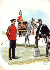 Duke of Lancasters Own Yeomanry 1899-1913 by R Marrion