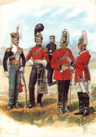 Duke of Lancasters Own Yeomanry 1815-1817 by R Marrion
