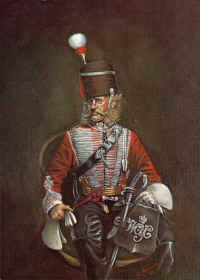 Westmoorland and Cumberland Yeomanry by R Marrion