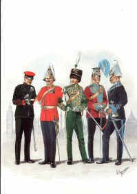 Yeomanry Force at the 1911 Coronation by R Marrion