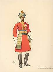 Officer 7th Bengal Cavalry by John Charlton (1897) (Y)