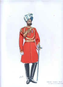 Officer Viceroy Body Guard by John Charlton (1897)