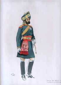 Officer 8th Bengal Cavalry by John Charlton (1897)