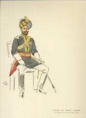Officer 2nd Bengal Lancers by John Charlton