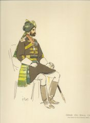 Officer 17th Bengal Cavalry by John Charlton (P)