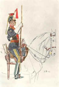 12th Lancers by John Charlton. (1899)