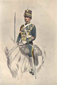 19th Hussar, Corporal by John Charlton (1899)