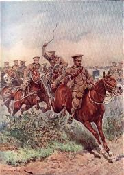 Royal Field Artillery by Richard Caton Woodville. (P)