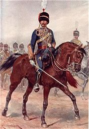 Royal Gloucestershire Hussars by Richard Caton Woodville (P)