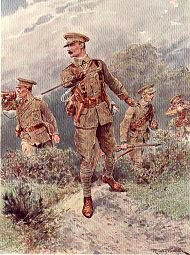 Infantry Skirmishing by Richard Caton Woodville (P)