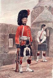 The Black Watch by Richard Caton Woodville.