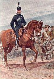 The Devonshire Regiment by Richard Caton Woodville. (P)