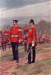 Prince of Wales Own West Yorkshire Regiment by Richard Caton Woodville (P)