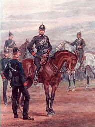 The Queens Royal West Surrey Regiment by Richard Caton Woodville