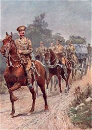Army Service Corps by Richard Caton Woodville. (Y)