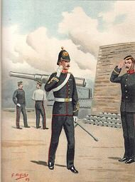 The Royal Artillery by G Douglas Giles (P)