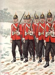 The 68th Durham Light Infantry by G Douglas Giles (P)