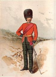 The 21st Royal Scots Fusiliers by Frank Feller (P)
