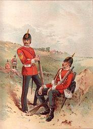 The 57th Duke of Cambridges Own (Middlesex) by Frank Feller (P)