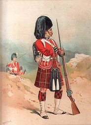 The 79th Queens Own Cameron Highlanders by Frank Feller (P)