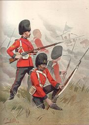 The 87th Princess Victorias (Royal Irish Fusiliers) by G Douglas Giles (P)