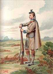 The London Scottish (1st Volunteer Battalion Rifle Brigade, 7th Middlesex) by G Douglas Giles (P)