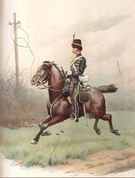 The 10th (Prince of Wales Own Royal) Hussars by G Douglas Giles (P)