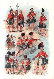 Black Watch Uniforms 1739 - 1845 by Harry Payne.