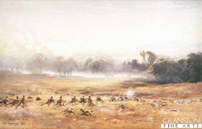 Pinned Down (Highlanders Engage Boers) by john Farquharson (P)