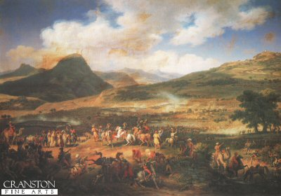 Battle of Mount Thabor, 16th April 1799 by Louis Lejeune.