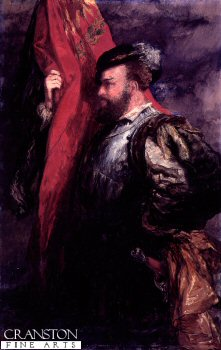 The Standard Bearer by Sir John Gilbert.