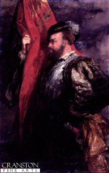 The Standard Bearer by Sir John Gilbert (P)