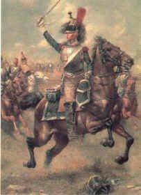 French 9th Regiment of Cuirassiers by Jim Lancia.
