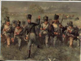 French Voltigeurs by Jim Lancia.