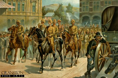 Lord Roberts Entry into Pretoria by Richard Caton Woodville.