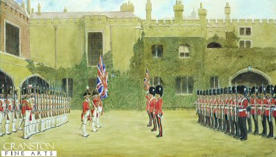 Grenadier Guards 1804-1904 by Richard Simkin.